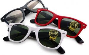anteojos ray ban de colores